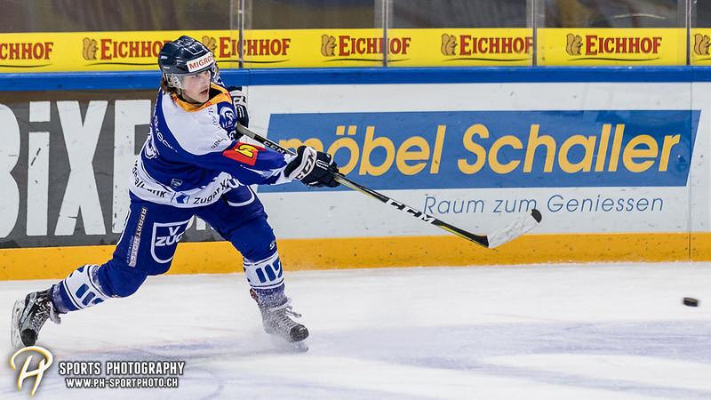 Junioren Elite A: EV Zug - HC Davos - 3:2 - Bild-ID: 201709100397