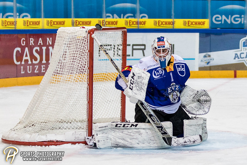 Junioren Elite A: EV Zug - HC Davos - 3:2 - Bild-ID: 201709100292