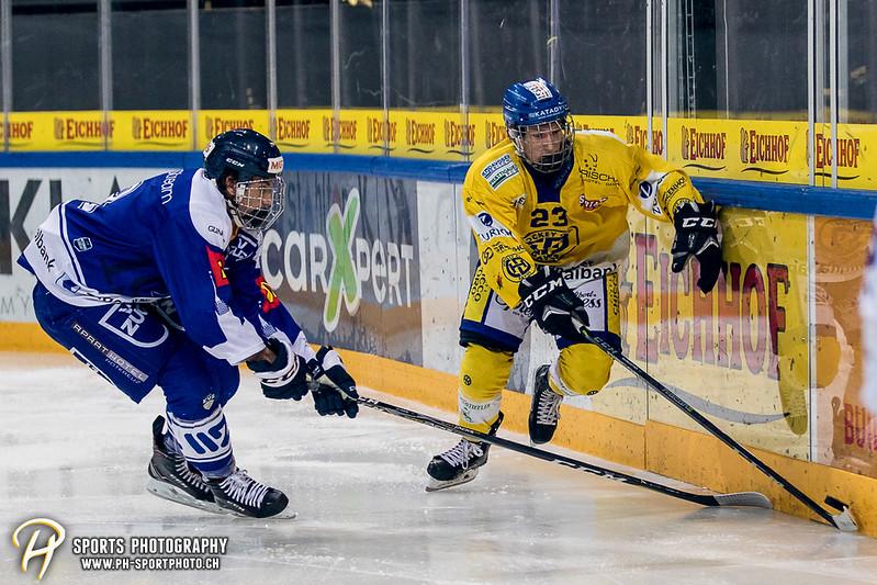 Junioren Elite A: EV Zug - HC Davos - 3:2 - Bild-ID: 201709100411