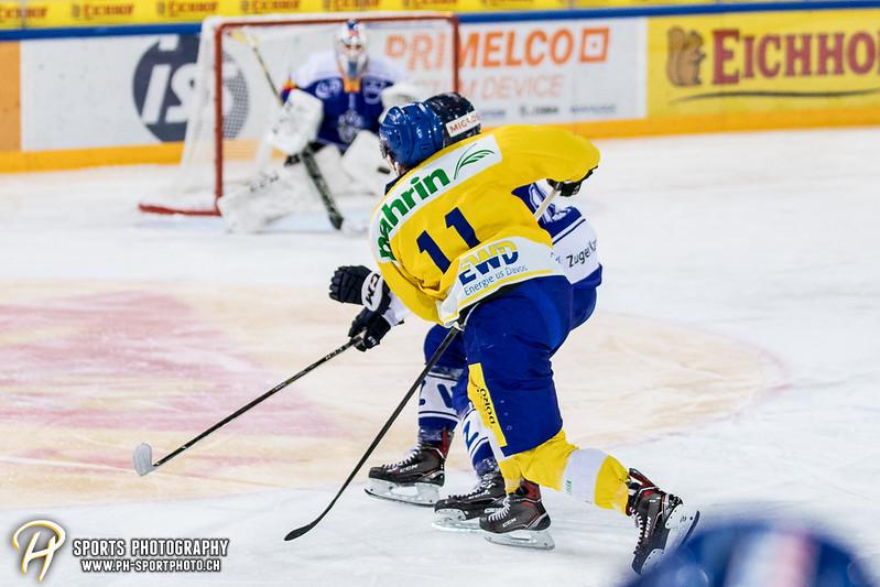Junioren Elite A: EV Zug - HC Davos - 3:2 - Bild-ID: 201709100342