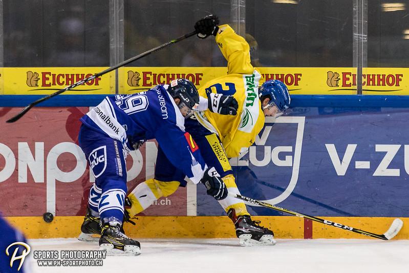 Junioren Elite A: EV Zug - HC Davos - 3:2 - Bild-ID: 201709100396