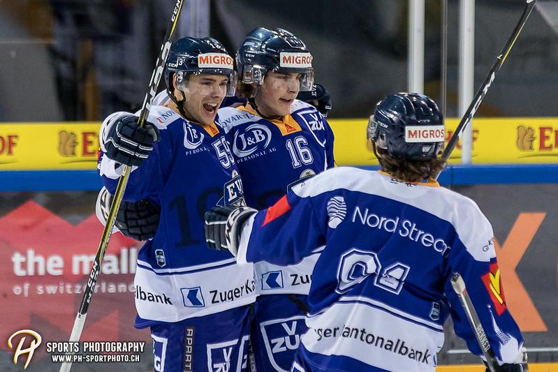 Junioren Elite A: EV Zug - HC Davos - 3:2 - Bild-ID: 201709100359
