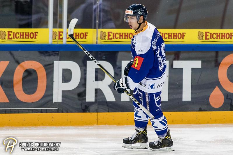Junioren Elite A: EV Zug - HC Davos - 3:2 - Bild-ID: 201709100357