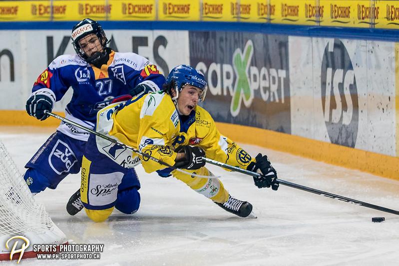 Junioren Elite A: EV Zug - HC Davos - 3:2 - Bild-ID: 201709100426