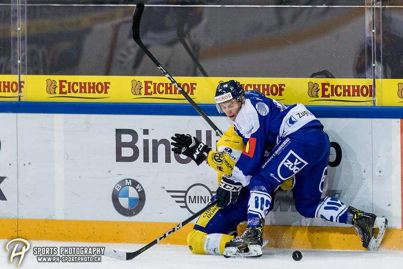Junioren Elite A: EV Zug - HC Davos - 3:2 - Bild-ID: 201709100374