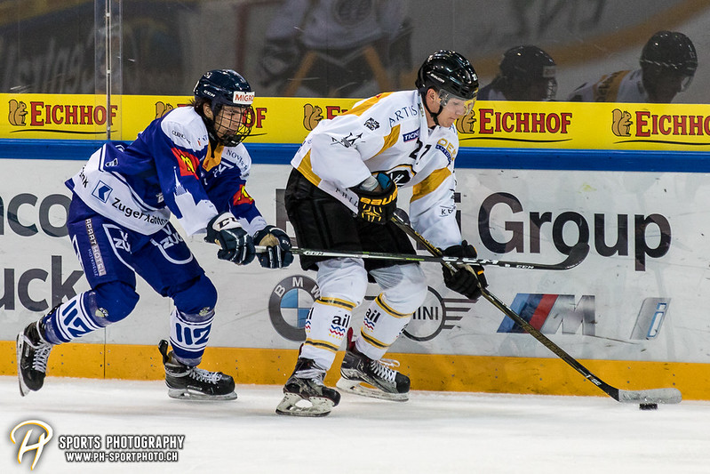 Junioren Elite A: EV Zug - HC Lugano - 4:0