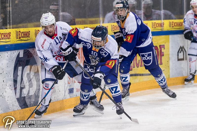 Junioren Elite A: EV Zug - EHC Kloten - 4:2