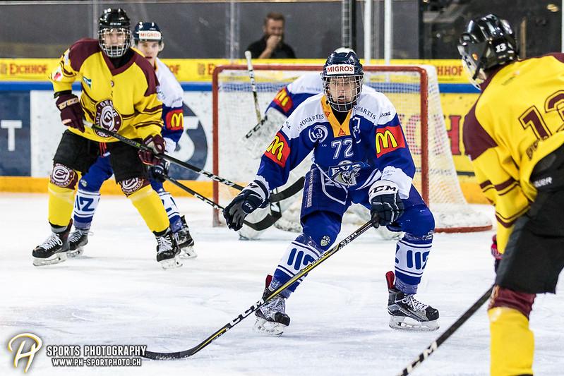 Junioren Elite A: EV Zug - Genève Futur Hockey - 2:3 SO