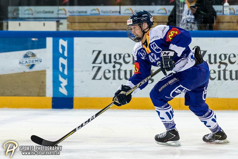 Junioren Elite A: EV Zug - EHC Biel-Bienne Spirit - 2:1 SO