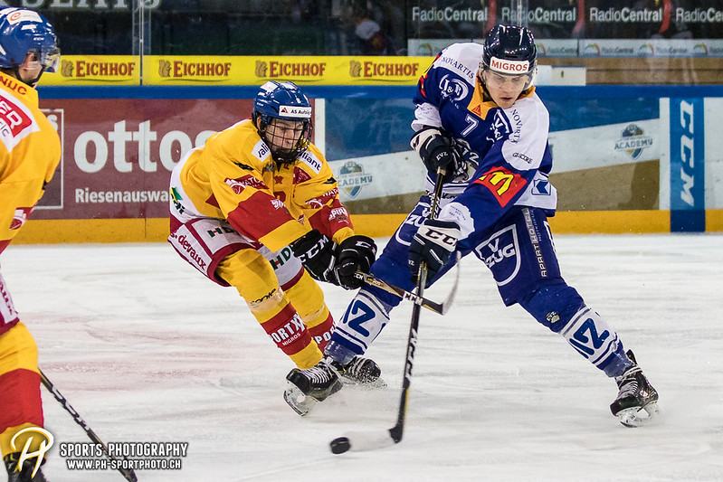 Junioren Elite A: EV Zug - EHC Biel-Bienne Spirit - 2:1 SO