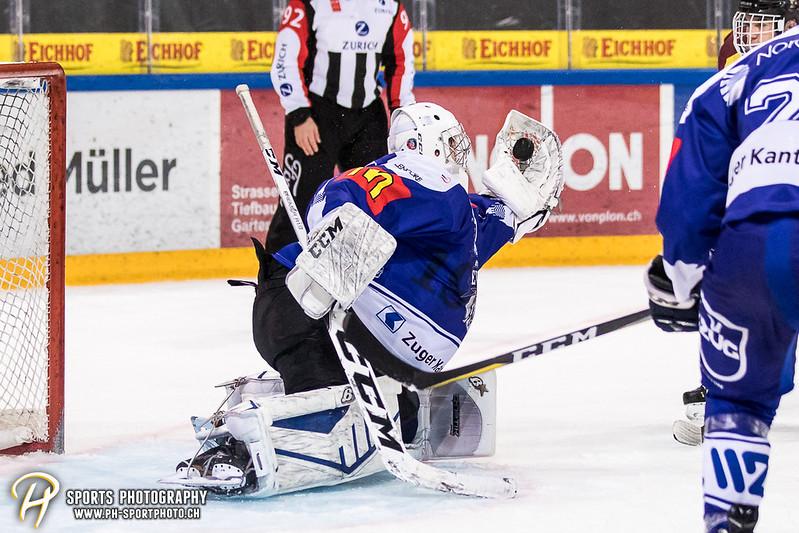 Junioren Elite A: EV Zug - Genève Futur Hockey - 3:1