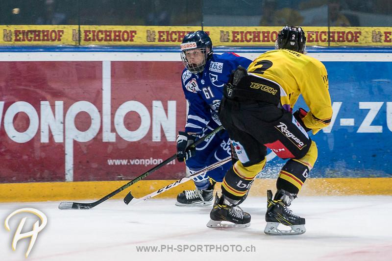 Junioren Elite A: EV Zug - SC Bern Future - 3:1