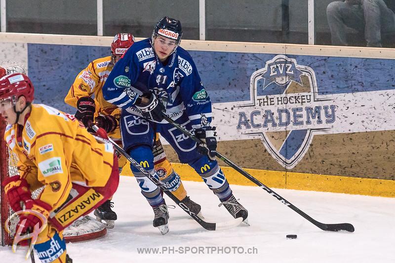 Junioren Elite A: EV Zug - SCL Young Tigers - 1:2
