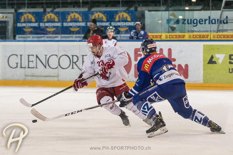 Junioren Elite A: EV Zug - Lausanne 4 Clubs - 5:2