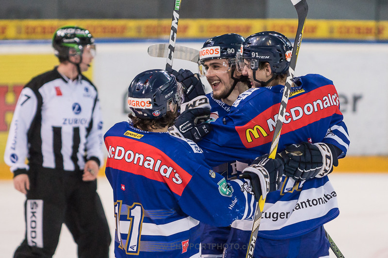 Junioren Elite A Playoff 1/4-Final: EV Zug - Lausanne 4 Clubs - 10:2