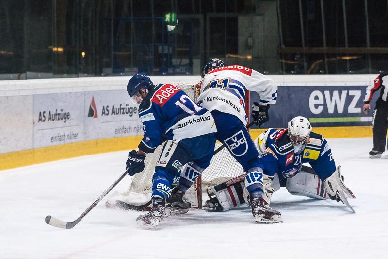Junioren Elite A Playoff-Final, Spiel 2: GCK Lions - EV Zug - 4:0
