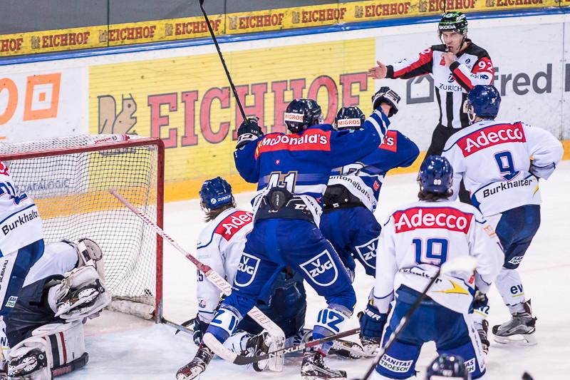 Junioren Elite A Playoff-Final, Spiel 3: EV Zug - GCK Lions - 4:6