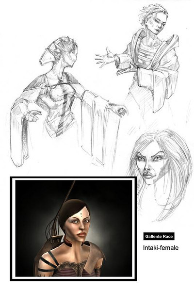 Concept drawings and 3D modelling for Eve-online.  On the courtesy of CCP games, copyright material.