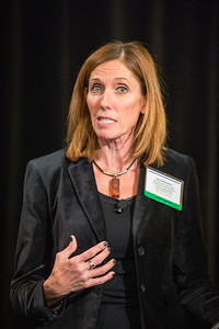 Barbara Walker speaks at the Women's Global Leadership Summit, on Thursday, November 12th, 2015 in San Francisco, CA.Tomas Ovalle/AP Images for American Institute of Certified Public Accountants