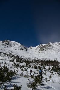 Skier : Vincent Lebrun and Emmanuel Demers, Location: Central Bassin