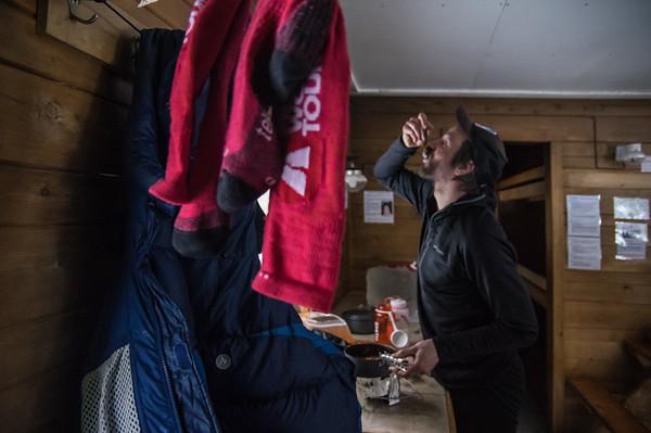 Cook : Vincent Lebrun Location : Roaring Brook Cabin