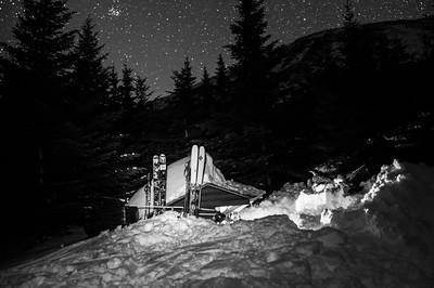 Slepper : Vincent Lebrun , Emmanuel Demers and Jean-Sébastien Chartier-Plante Location: Chimney Pound Camp
