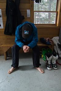 Skier: Vincent Lebrun Location: Roaring BRook Cabin