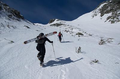 Climber: Emmanuel Demers and Vincent Lebrun Location : The Saddle, Mt. Kathadin