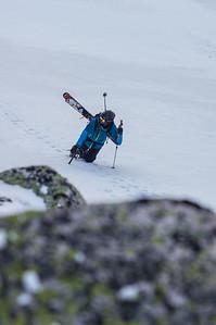 Skier : Vincent Lebrun, Location: Central Bassin