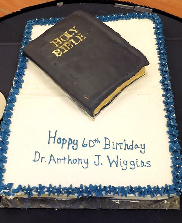 Dr Anthony Wiggins 60th