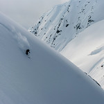 Skier: Emmanuel Demers Location: Pollux Face, Roger Pass, B.C.