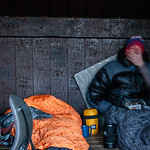Slepper : Vincent Lebrun Location: Hermit Lake Shelter test shot for the Pinhole project.
