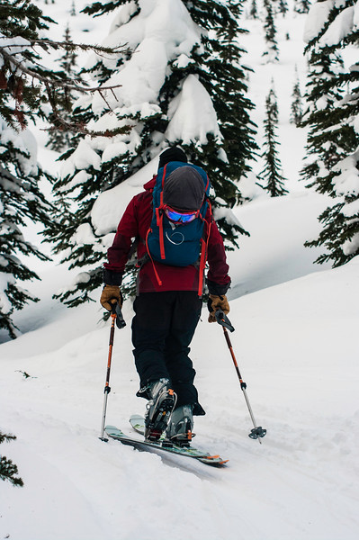 SKier : Kevin Hamel Location : Yimir Lodge, Nelson, B.C.