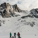 Skier: Martin-Simon Beauséjour, WIlliam Viens and Pascale Drouin. Location : Fairy Meadow Hut