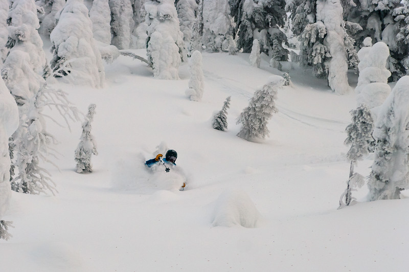Skier :Vincent Lebrun Location: Whitewater backcountry, B.C.