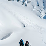 Skier: Vincent Lebrun and Emmanuel Demeers Location: Wapta Icefield, Saint-Nicolas Pass