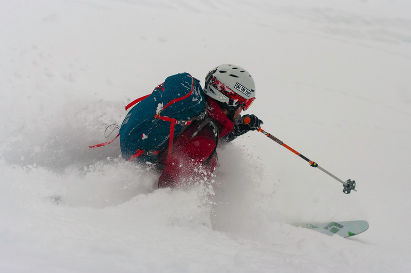 Skier: Kevin Hamel Location: Fairy Meadow Hut. 30cm a day , every day, for one week. That's the result.