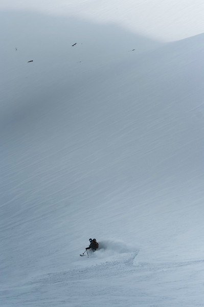 Skier: Emmanuel Demers Location: Roger Pass, B.C. Canada
