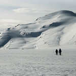 Skier: Vincent Lebrun and Emmanuel Demers. Location: Rhonda East Face, Wapta Icefield. Don't fallow, just explore