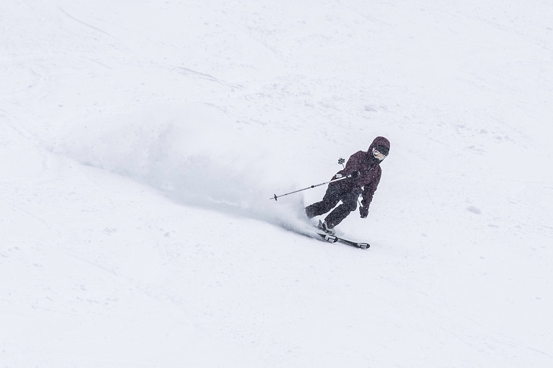 Skier : Anne-Marie Turmel Location: Mont Grand Fond, Québec.