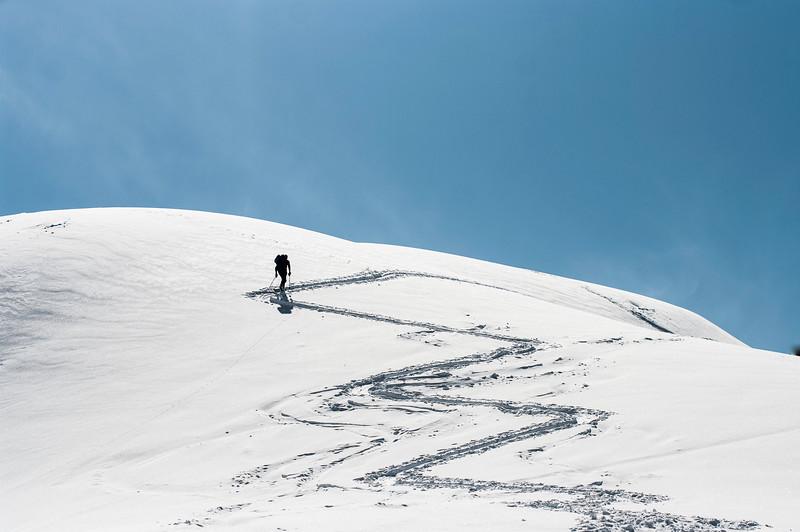 Skier: Alexandre Cauchon Location: Roger Pass, B.C. Canada