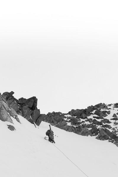 Climber :Vincent Lebrun  Location: Friendship col