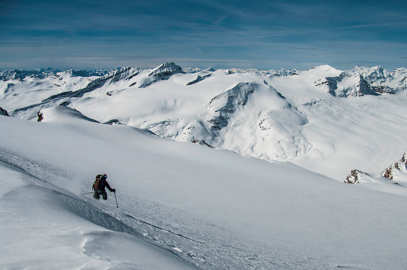 Skier: Emmanuel demers Location: Wapta Icefield