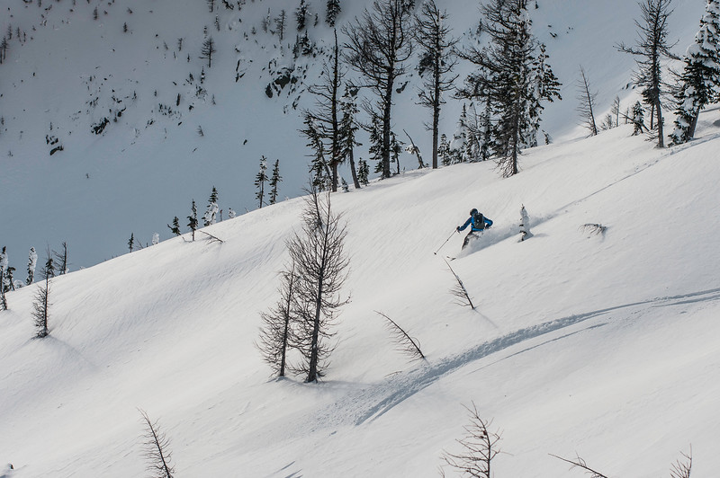 Skier: Vincent Lebrun Location: Qua Bowl, Ymir Backcountry, B.C. Canada