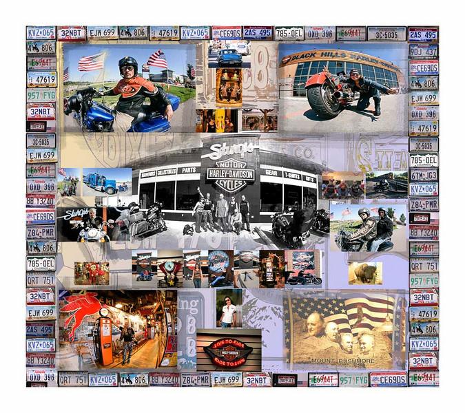 NOVEMBRE<br /> Calendario 2009 dedicato al 105 Anniversary Harley-Davidson e 25 H.O.G. EVENT Milwaukee 28-31 Agosto 2008