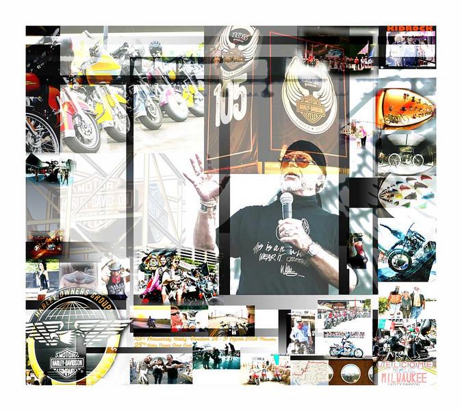 DICEMBRE<br /> Calendario 2009 dedicato al 105 Anniversary Harley-Davidson e 25 H.O.G. EVENT Milwaukee 28-31 Agosto 2008