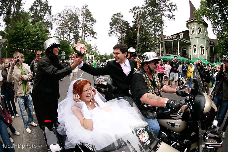 Il mio amico Roman fresco sposo.