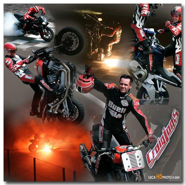 CRAIG JONES SHOW<br /> HARLEY-DAVIDSON XR1200 TROPHY<br /> Autodromo di Franciacorta<br /> 15-16-17 Maggio 2009