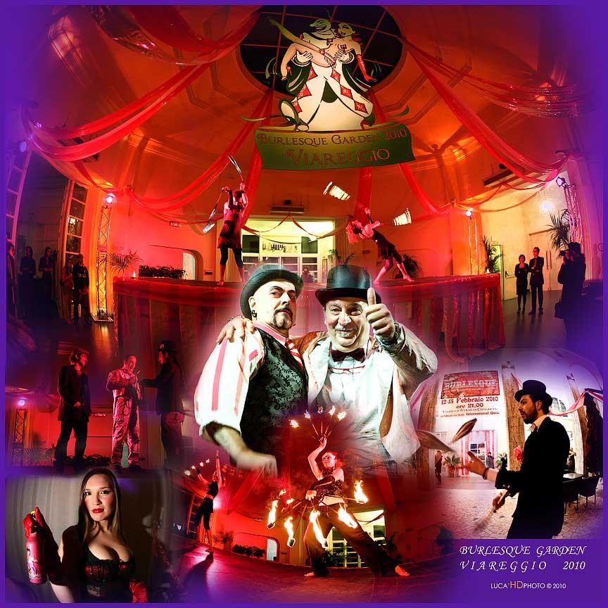 Burlesque Garden, Viareggio Febbraio 2010<br /> <br /> La hall di ingresso Centro Congressi Principe di Piemonte
