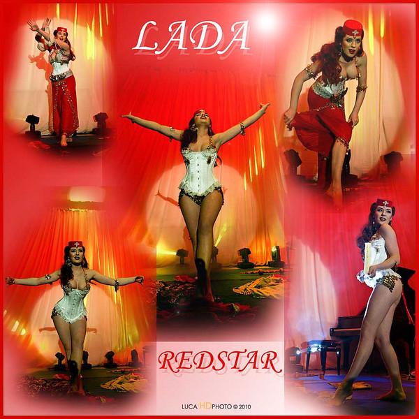 "LADA REDSTAR<br /> <br />  <a href=""http://www.myspace.com/ladaredstar"">http://www.myspace.com/ladaredstar</a><br /> <br /> Burlesque Garden, Viareggio Febbraio 2010"